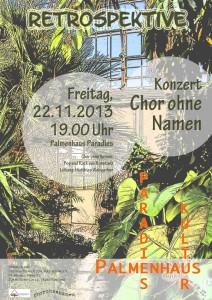 Konzert im Palmenhaus Paradies